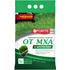 <b>Удобрение</b> для газона от <b>Мха</b> BONA FORTE, 5 кг купить по цене ...