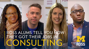 careers in consulting michigan ross play video