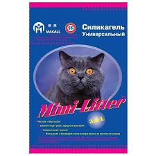Впитывающий <b>наполнитель Mimi Litter Силикагель</b> ...