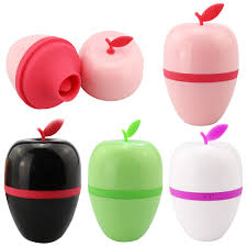 Ouch Apple Rechargeable Sinicone <b>Nipple Sucking Vibrator</b> ...