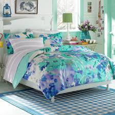 blue white teen girls bedding