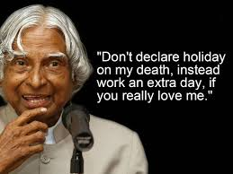10 inspirational quotes by Dr. A.P.J. Abdul Kalam that will keep ...