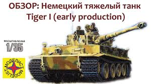 ОБЗОР: <b>Немецкий</b> тяжёлый <b>танк</b> Tiger I (early production ...