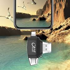 <b>4 in 1 Multifunctional Mobile</b> Phone Reader Type-C USB Connector ...