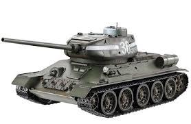 <b>Радиоуправляемый танк Taigen Russia</b> T34-85 Green Edition ...