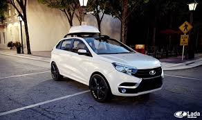 Варианты установки багажника на <b>крышу</b> Lada XRAY » Лада ...