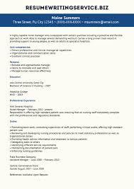 resume writing servicenurse manager resume sample