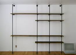 and black steel pipe furniture