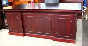 kimball office furniture great kimball presidential series desk set refinished in mahogany