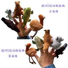 Free Shipping <b>5pcs</b>/lot Australian <b>animal Finger Puppets</b>,Talking ...