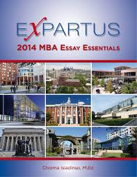 expartus consulting mba essay and interview guides mba essay guide