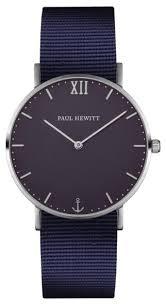 Купить <b>Наручные часы</b> PAUL HEWITT Sailor Line <b>Silver</b> Nylon ...
