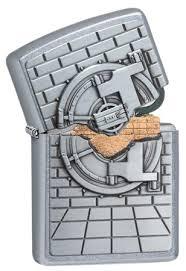 <b>Зажигалка Zippo Classic</b> с <b>покрытием</b> Street Chrome™, 29555 на ...