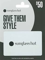 Sunglass Hut $50: Gift Cards - Amazon.com