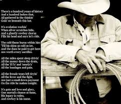 "Cowboy is His Name""- Baxter Black.... The Poem from 8 Seconds ..."
