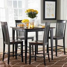 black kitchen dining sets:  black square kitchen table black square dining table set simpleform black kitchen table