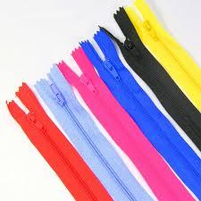 <b>2pcs</b> Cloth zipper <b>50cm</b> non invisible zipper skirt zipper closure bag ...