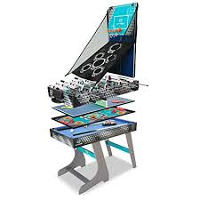 Hy-Pro 4' 8 in 1 Folding Combo Table: Toys & Games - Amazon.com
