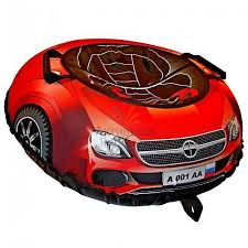 Санки надувные <b>Тюбинг RT</b> Эксклюзив <b>SUPER</b> CAR Mercedes ...