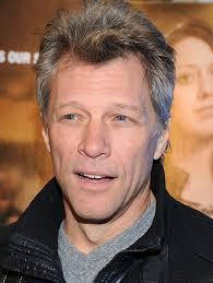 Jon Bon Jovi - 2020 Light brown hair & Caesar hair style.