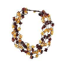 <b>Колье</b>/ожерелье бижутерное <b>Балтийское золото</b> 1567574 ...