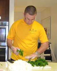 frcse chief chefs prepare dinner at ronald mcdonald house chief aviation maintenance administrationman aw robert portell of fleet readiness center southeast detachment jacksonville