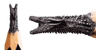 """Artist Hand-Carves <b>Tiny</b> """"Game of Thrones"""" <b>Sculptures</b> Out of Pencil ..."""