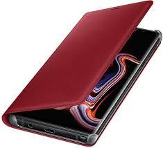 <b>Чехол флип-кейс Samsung для</b> Samsung Galaxy Note 9 Leather ...