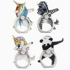 Мультфильм Единорог Лошадь Зебра <b>панда</b> палец <b>кольцо</b> ...