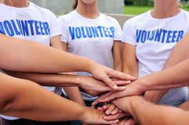 Volunteering is a mutual agreement