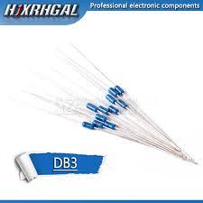 <b>50PCS DB3 DB 3</b> Diac Trigger Diodes <b>DO 35</b> DO 204AH hjxrhgal-in ...