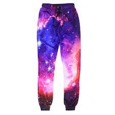 2019 Fashion Galaxy Joggers Pants Women Men <b>Bacon Cat</b> Space ...