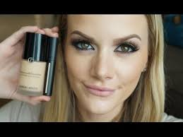 Review/Demo! <b>Giorgio Armani</b> Luminous Silk Foundation/<b>High</b> ...