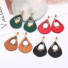 China <b>Fashion</b> Simple Jewelry for Women Wild <b>Hollow Water</b> Drop ...