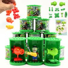 <b>Blind box lotter</b> Plants vs Zombies Figures Building Blocks PVZ ...