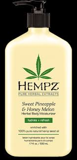 HEMPZ <b>Молочко</b> увлажняющее для <b>тела</b>, ананас и медовая дыня ...