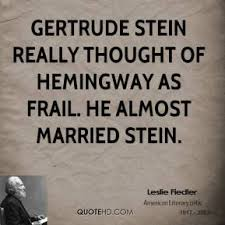 Gertrude Stein Quotes - Page 1 | QuoteHD