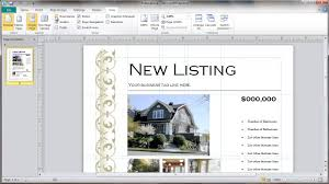 brochure real estate agent brochure template real estate agent brochure template medium size