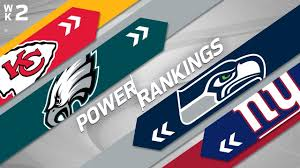 Week 2 Power Rankings | NFL - YouTube