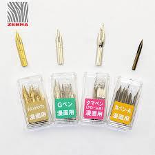 <b>5 Pieces</b> Zebra G Pen Nib <b>Cartoons</b> Dip Pen Metal Manga Comic ...