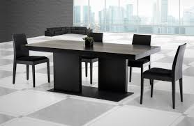 modrest cobalt modern black oak dining table alaska black oak office desk