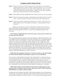 cover letter template for example of comparative essay term paper gallery of a comparison essay example