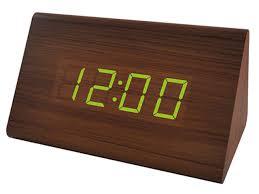 <b>Часы PF S736</b> Wood LED Brown Red PF A4391 - Чижик