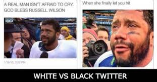 White Vs Black Twitter Meme | lolworthy via Relatably.com