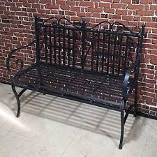 MOONBUY 44 Inch Patio Garden Bench, 2-Seater ... - Amazon.com