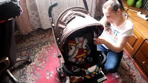 Обзор на детскую прогулочную <b>коляску</b>-<b>трость Everflo</b> Е-109 ...