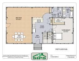 Floor Design   Country House s With Open Floor    Nature French Country House Plans Open Floor Plan