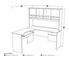 shaped office desk bestar innova tuscany brown l shaped computer desk 92420 63 bestar office furniture innovative ideas furniture