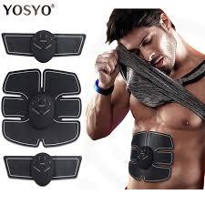 <b>EMS Wireless Muscle</b> Stimulator Trainer Smart Fitness Abdominal ...