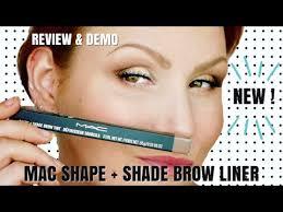 New <b>MAC</b> Shape + Shade Brow Liner Review + Demo - YouTube